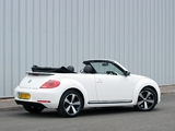 Volkswagen Beetle Cabrio 60s Edition UK-spec 2013 images