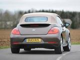 Volkswagen Beetle Cabrio 70s Edition UK-spec 2013 images