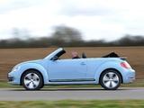 Volkswagen Beetle Cabrio UK-spec 2013 photos