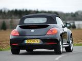 Volkswagen Beetle Cabrio 50s Edition UK-spec 2013 photos