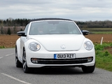 Volkswagen Beetle Cabrio 60s Edition UK-spec 2013 pictures