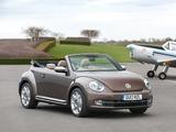 Volkswagen Beetle Cabrio 70s Edition UK-spec 2013 pictures