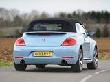 Volkswagen Beetle Cabrio UK-spec 2013 wallpapers