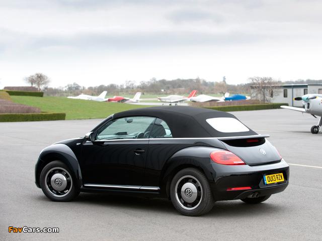 Volkswagen Beetle Cabrio 50s Edition UK-spec 2013 wallpapers (640 x 480)