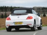 Volkswagen Beetle Cabrio 60s Edition UK-spec 2013 wallpapers