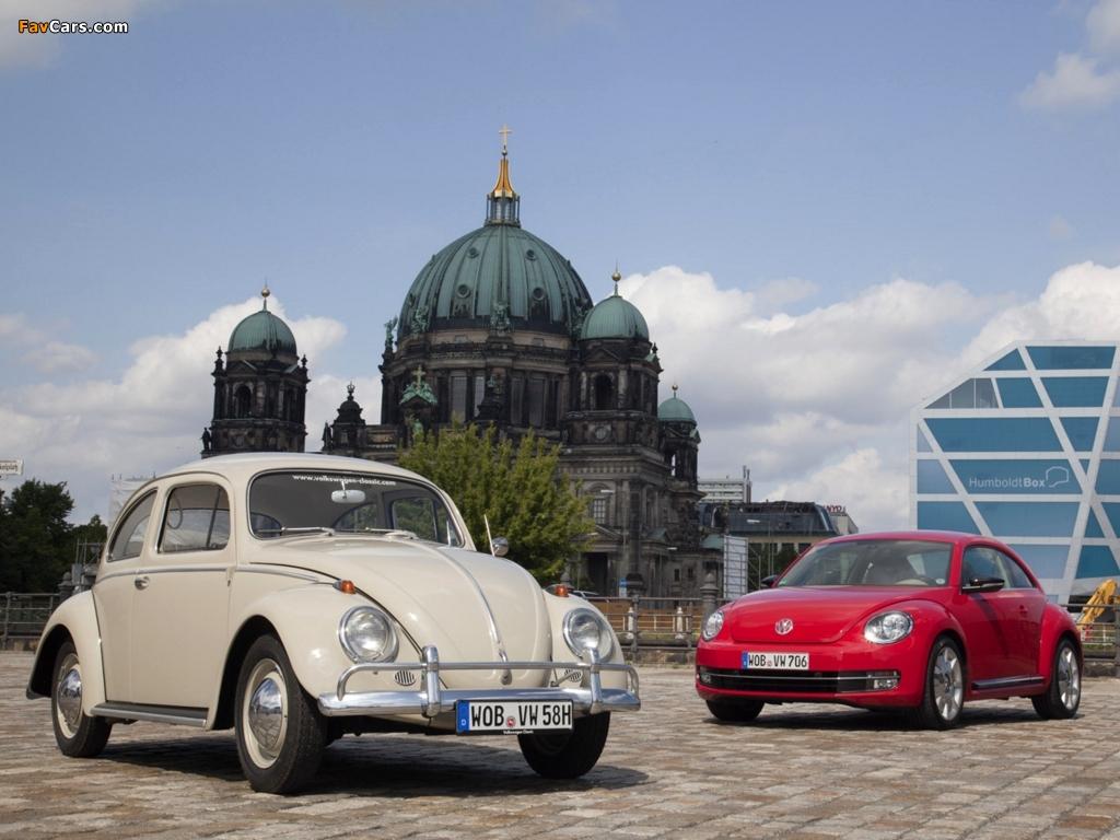 Volkswagen Beetle / Käfer pictures (1024 x 768)