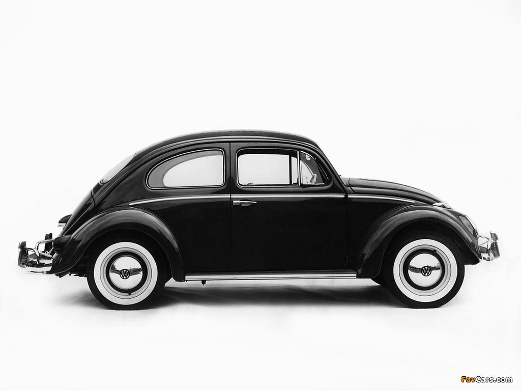 Volkswagen Beetle 1962–68 wallpapers (1024 x 768)