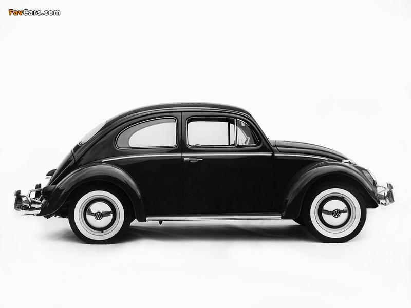Volkswagen Beetle 1962–68 wallpapers (800 x 600)