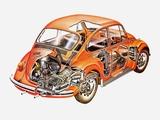 Volkswagen Beetle UK-spec 1970 wallpapers