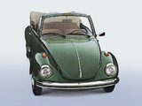Volkswagen Käfer Cabrio 1972 wallpapers