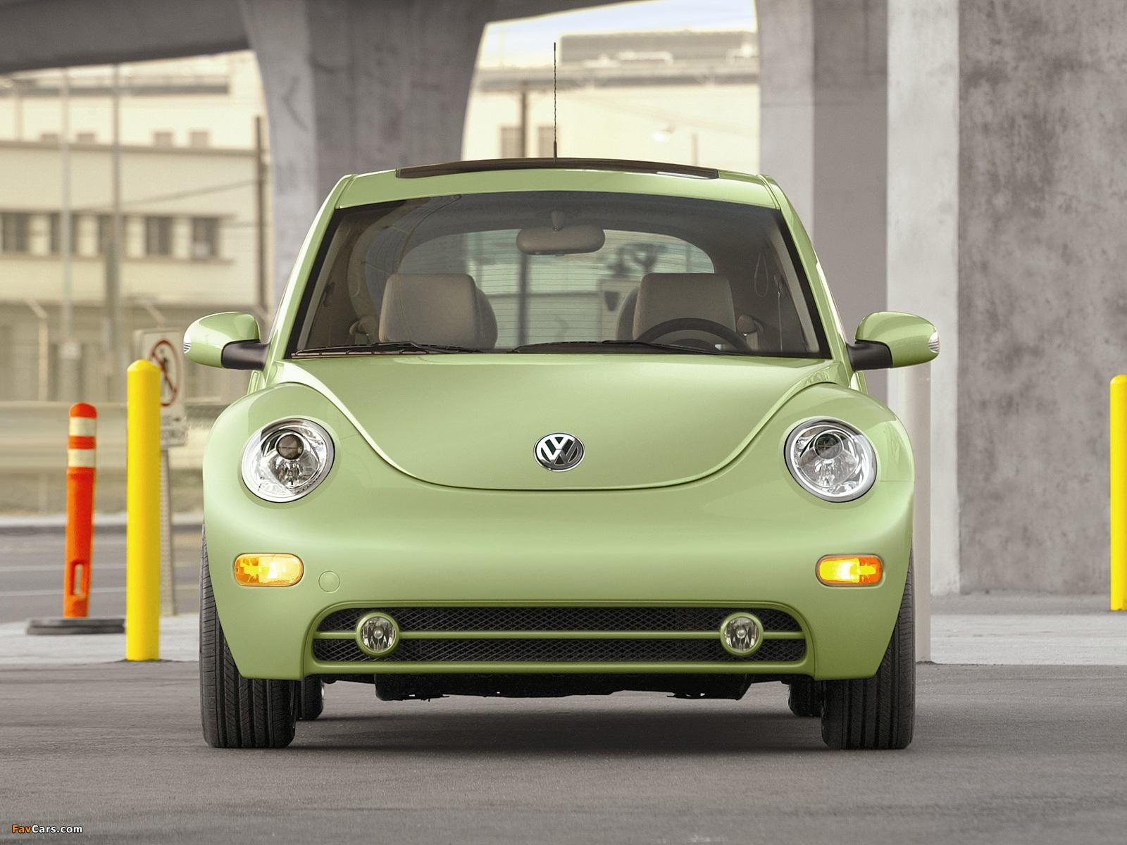 Volkswagen New Beetle US-spec 1998–2005 wallpapers (1600 x 1200)