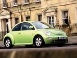 Volkswagen New Beetle UK-spec 1998–2005 wallpapers