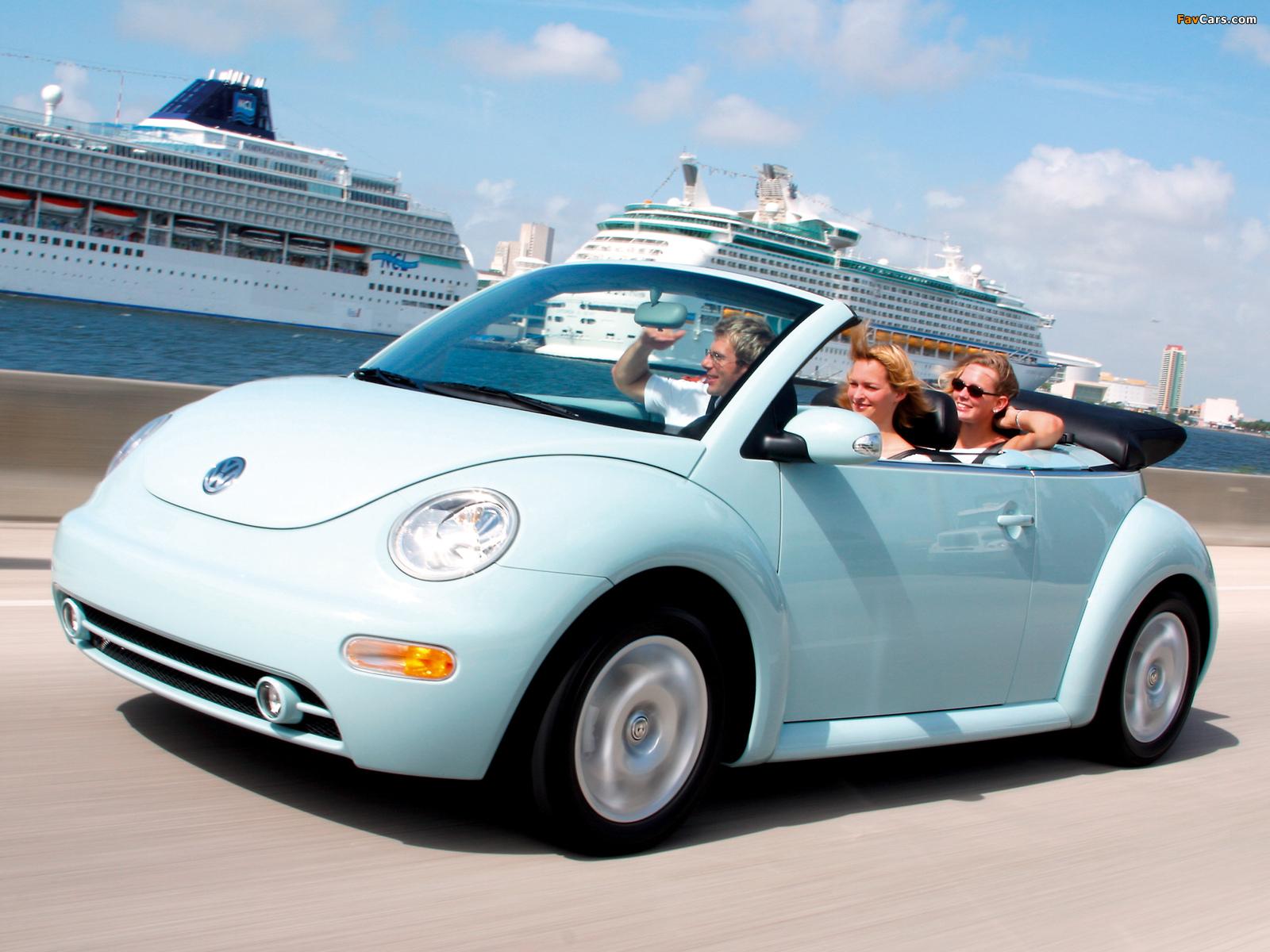 Volkswagen New Beetle Convertible 2000 05 Wallpapers