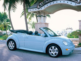 Volkswagen New Beetle Convertible 2000–05 wallpapers
