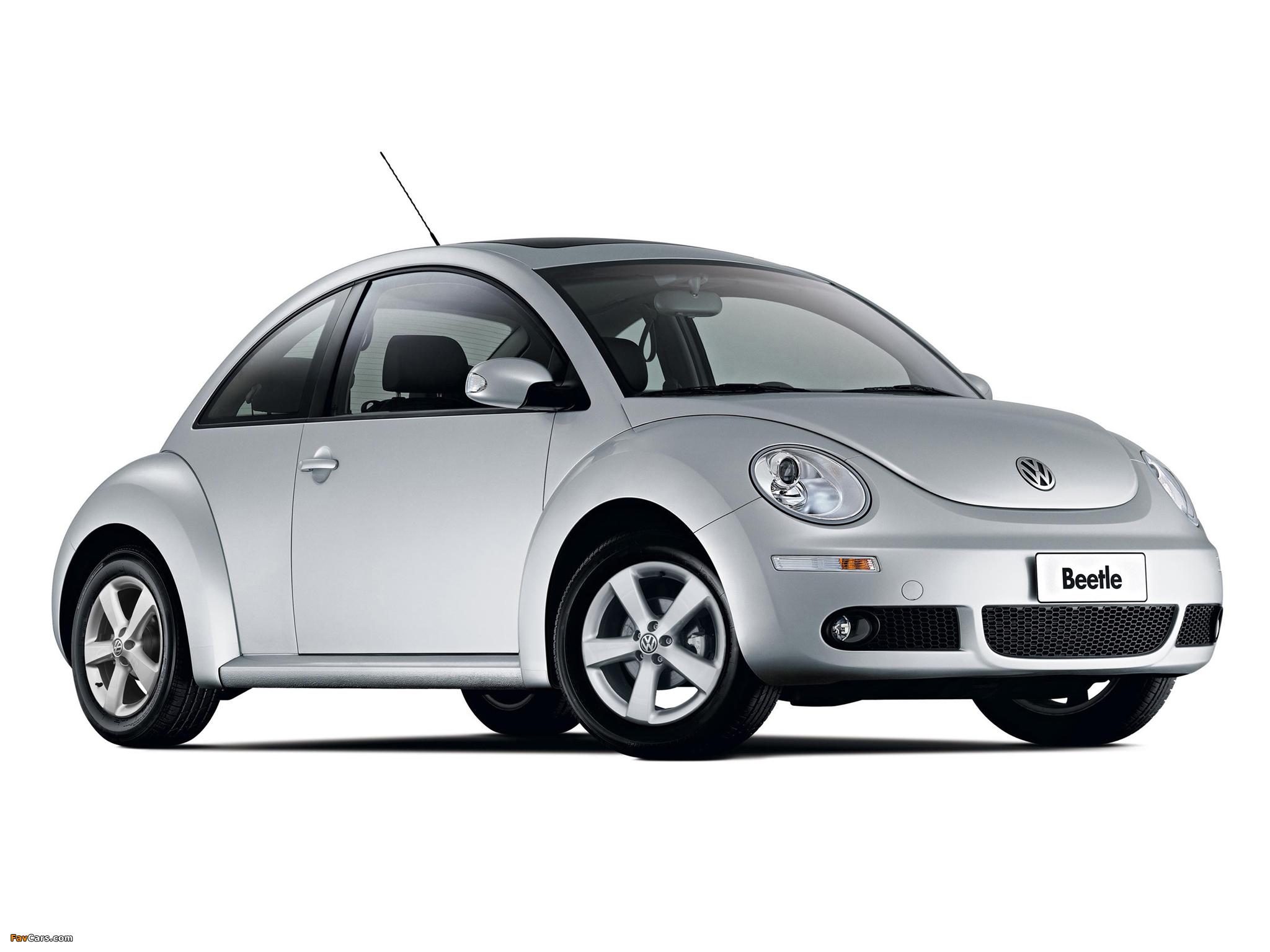 Volkswagen New Beetle 2006–10 wallpapers (2048 x 1536)