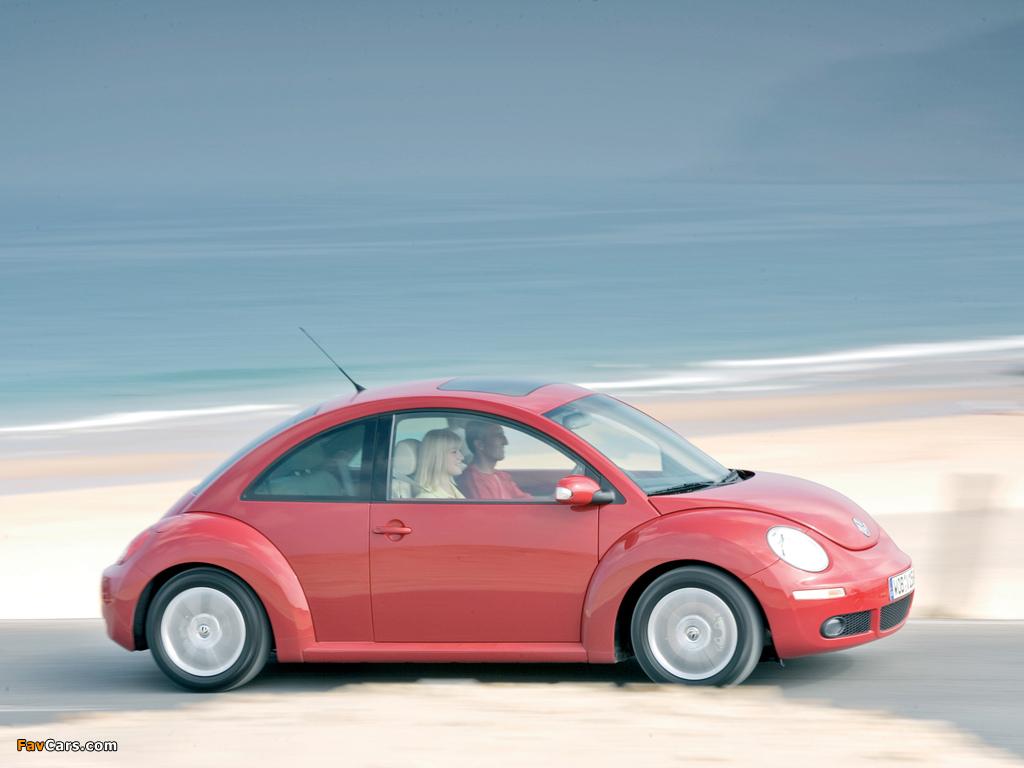 Volkswagen New Beetle 2006–10 wallpapers (1024 x 768)