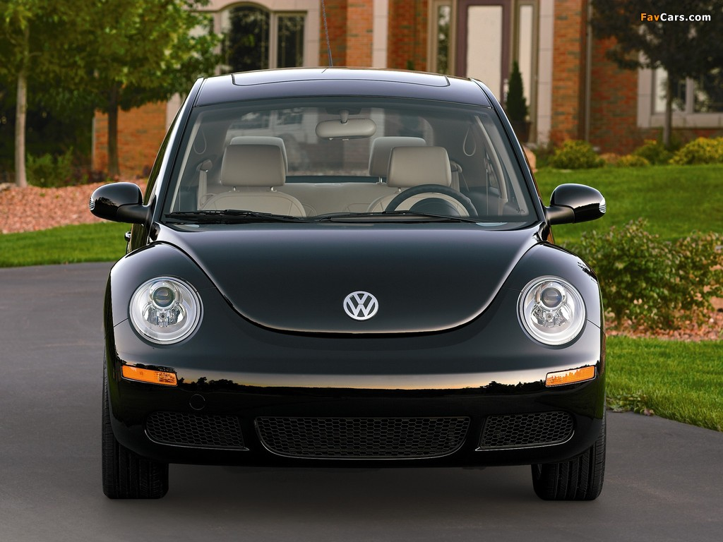 Volkswagen New Beetle US-spec 2006–10 wallpapers (1024 x 768)