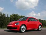 Volkswagen Beetle US-spec 2011 wallpapers