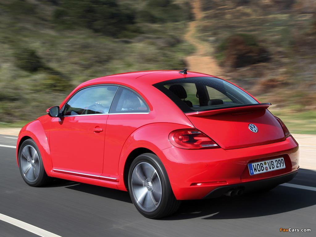 Volkswagen Beetle 2011 wallpapers (1024 x 768)