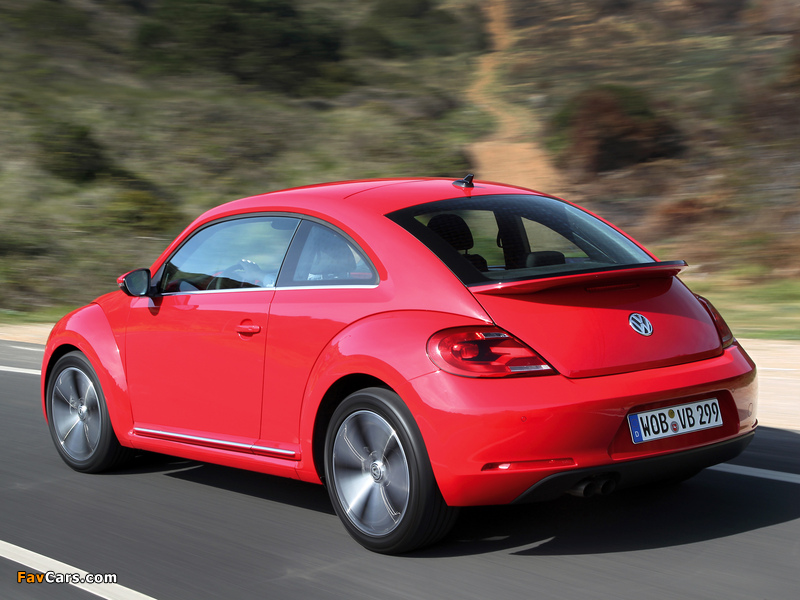 Volkswagen Beetle 2011 wallpapers (800 x 600)