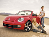 Volkswagen Beetle Convertible Turbo 2012 wallpapers