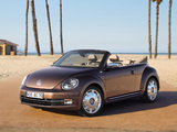 Volkswagen Beetle Cabrio 70s Edition 2012 wallpapers