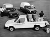 Images of Volkswagen Caddy (Type 14) 1980–95