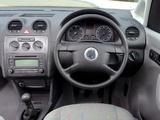 Images of Volkswagen Caddy Kasten UK-spec (Type 2K) 2004–10