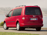 Images of Volkswagen Caddy Maxi Life AU-spec (Type 2K) 2010