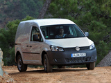 Images of Volkswagen Caddy Kasten (Type 2K) 2010