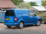 Images of Volkswagen Caddy Kasten UK-spec (Type 2K) 2010