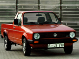 Photos of Volkswagen Caddy (Type 14) 1980–95