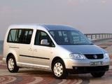 Photos of Volkswagen Caddy Maxi Life ZA-spec (Type 2K) 2007–10