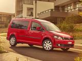 Photos of Volkswagen Caddy Maxi Life AU-spec (Type 2K) 2010