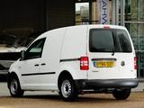 Photos of Volkswagen Caddy Kasten UK-spec (Type 2K) 2010