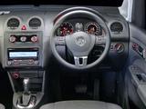 Photos of Volkswagen Caddy Maxi Crew Bus ZA-spec (Type 2K) 2010