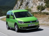 Photos of Volkswagen Cross Caddy (Type 2K) 2012
