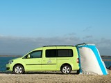 Photos of Volkswagen Caddy Camper UK-spec (Type 2K) 2013
