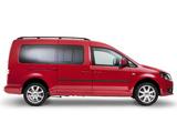 Pictures of Volkswagen Caddy Maxi Life AU-spec (Type 2K) 2010