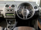Pictures of Volkswagen Caddy Maxi Life UK-spec (Type 2K) 2010