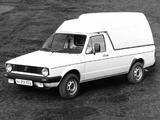 Volkswagen Caddy (Type 14) 1980–95 photos