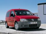 Volkswagen Caddy Combi (Type 2K) 2004–10 pictures