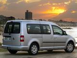 Volkswagen Caddy Maxi Life ZA-spec (Type 2K) 2007–10 images