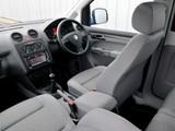 Volkswagen Caddy Maxi Life UK-spec (Type 2K) 2007–10 images