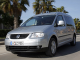 Volkswagen Caddy Maxi Life (Type 2K) 2007–10 photos