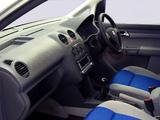 Volkswagen Caddy Maxi Life ZA-spec (Type 2K) 2007–10 pictures