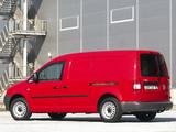 Volkswagen Caddy Maxi Panel Van ZA-spec (Type 2K) 2007–10 wallpapers