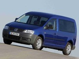 Volkswagen Caddy Combi Maxi (Type 2K) 2007–10 wallpapers
