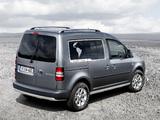 Volkswagen Caddy PanAmericana Concept (Type 2K) 2008 wallpapers