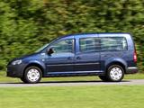 Volkswagen Caddy Maxi Comfortline (Type 2K) 2010 images